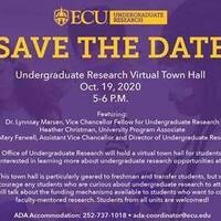 Undergraduate Research Virtual Town Hall