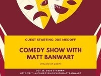 Virtual Comedy Show With Matt Banwart