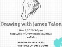 Virtual Drawing Class with James Talon