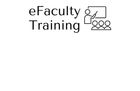 eFaculty Training Image