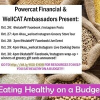 Eating Healthy on a Budget Weeklong Virtual Event