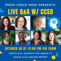 Fresh Check Week: Live Q&A with CCSD