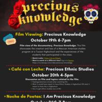 Café con Leche: Precious Ethnic Studies