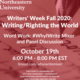 Writers' Week - Word-Work: #WhyIWrite Mixer and Panel Discussion