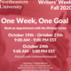 Writers' Week - One Week, One Goal
