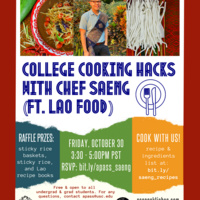 College Cooking Hacks with Chef Saeng (feat. Lao Food)