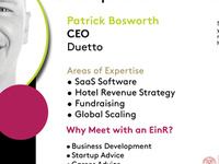 Entrepreneur in Residence: Patrick Bosworth