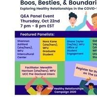 Boos, Besties & Boundaries: Exploring healthy relationships in the COVID-19 Era