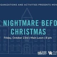 Movies on Main: Nightmare Before Christmas