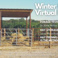 Winter Feeding Virtual Field Day