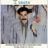 DCMP Sporadic Chats: Revisiting Borat and the Work of Sacha Baron Cohen