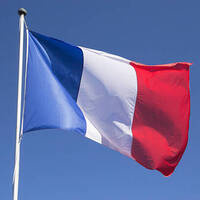 photo of the French flag