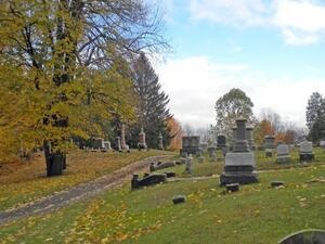 """Murder and Mayhem at Grove Cemetery"