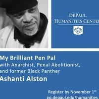 My Brilliant Pen Pal: Ashanti Alston