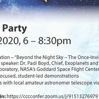 Virtual Star Party - Beyond the Night Sky--the Once Invisible Universe
