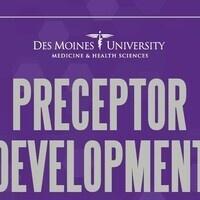 Preceptor Development Webinar: Teacher-Student Boundaries