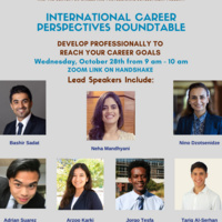 International Career Perspectives Roundtable