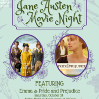 "Jane Austen Outdoor Movie Night Featuring ""Emma"" and ""Pride and Prejudice"""