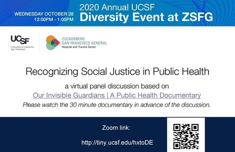 A Virtual Panel Discussion: Recognizing Social Justice in Public Health