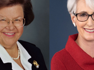 Not for the Faint of Heart: An Evening with Senator Barbara Mikulski and Ambassador Wendy Sherman