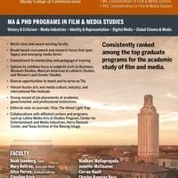 RTF Media Studies Graduate Programs (MA & PhD) - Virtual Information Sessions