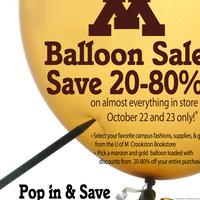 UMC Bookstore Balloon Sale