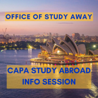 Study Away Info Session - CAPA Study Abroad