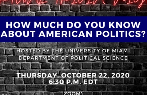 Trivia Night! How Much Do You Know About American Politics?