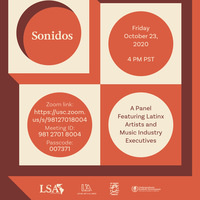 Sonidos: A Panel Featuring Latinx Artists and Music Industry Executives