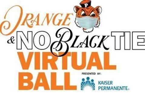 Orange & No Black Tie Virtual Ball