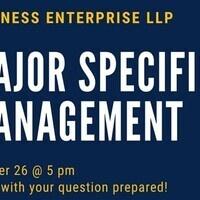 BE Hive #11: Major Specific Management (Explore)