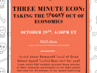 Three Minute ECON: Taking the Spooky Out of Economics
