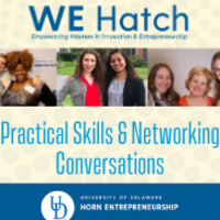 WE Hatch Practical Skills and Networking Conversations