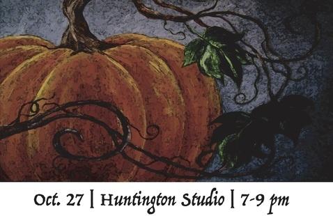 Pumpkin Painting Flyer