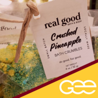 GEE Presents: A Real Good Time- Build Your Own Bath Crumble Event
