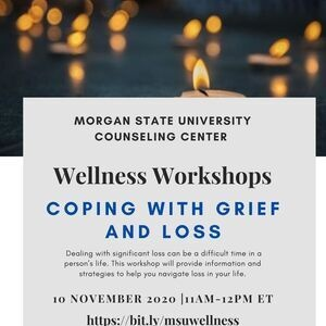 Wellness Workshops - Coping with Grief and Loss