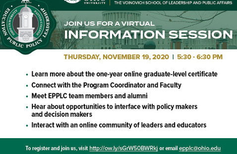 EPPLC Virtual Information Session