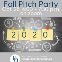 UD Horn 2020 Fall Pitch Party