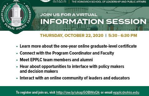 Virtual EPPLC Information Session