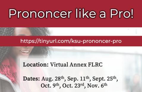 Prononcer like a pro!