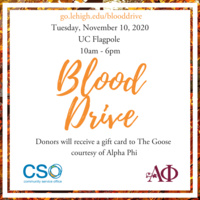 Blood Drive on 11/10/20- Urgent Need | Community Service