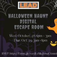 UT LEAD:Halloween Haunt Escape Room