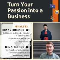 OECTalk: Turn Your Passion into a Business