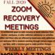 Zoom Recovery Meetings