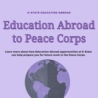 International Education Week: Education Abroad to Peace Corps