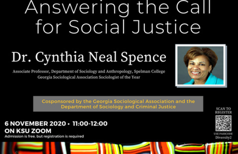 CHSS Diversity Series: Answering the Call for Social Justice
