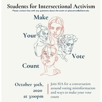Make Your Vote Count Event