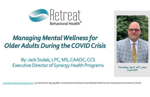 Managing Mental Wellness for Older Adults During the COVID Crisis