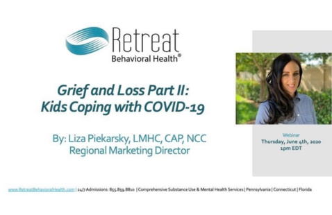 Grief and Loss Part II: Kids Coping with COVID-19