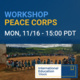 IEW: Peace Corps Workshop